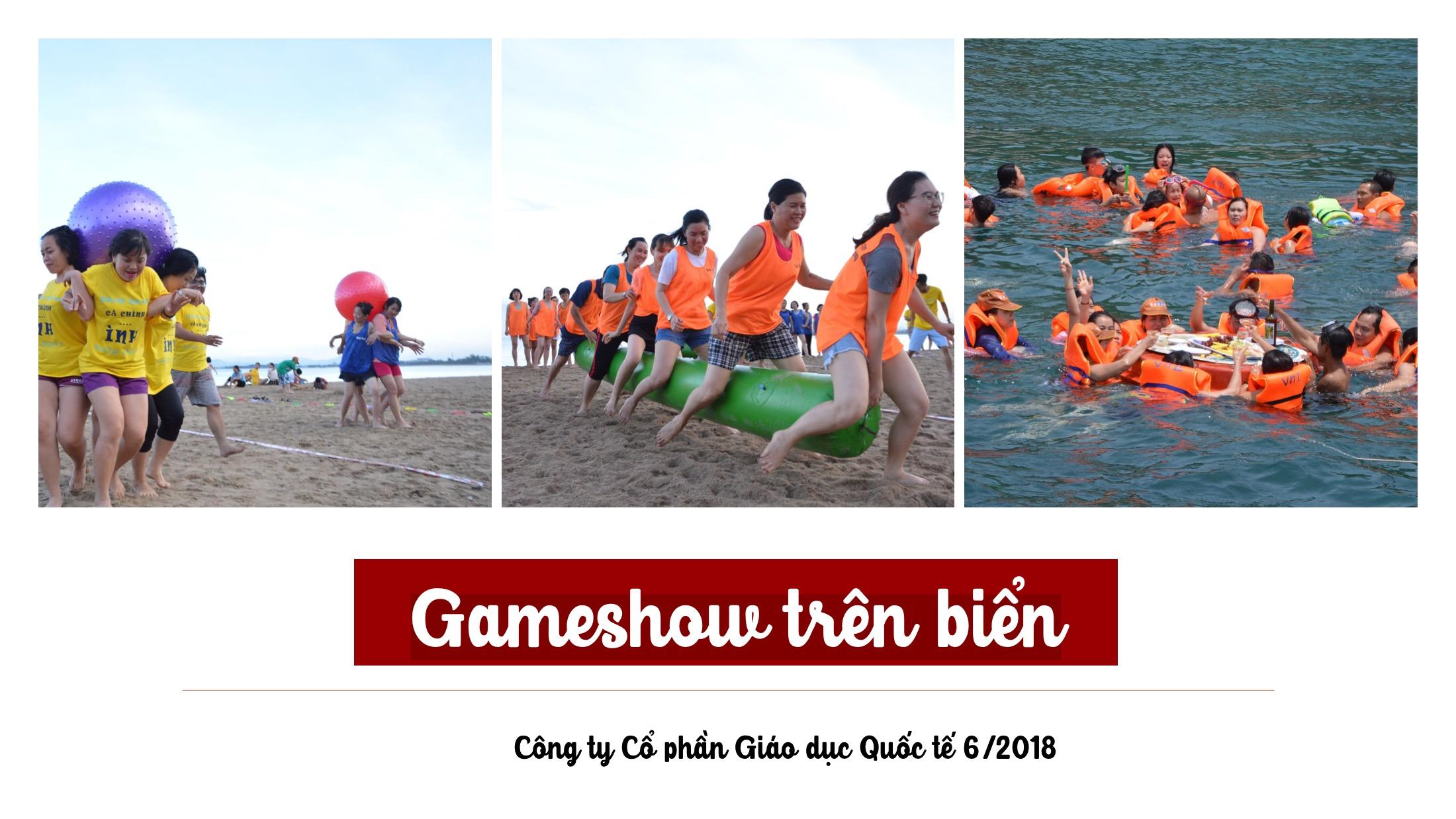 game show trên biển