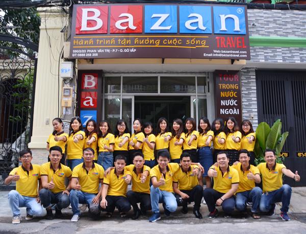 Đội ngũ Công ty Bazan Travel