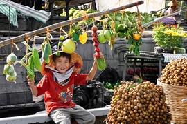 Tour Châu Đốc - Hà Tiên - Cần Thơ - Vườn Cò Bằng Lăng