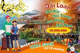 Tour du lịch Đài Loan 4 ngày 4 đêm khám phá Đài Bắc - Đài Trung - Nam Đầu chỉ 8.880.000