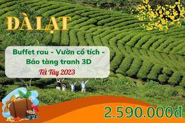 Tour Đà Lạt 3N3Đ Tết Dương Lịch 2019