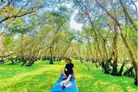 Tour Đảo Bà Lụa Rừng Tràm Trà Sư khách lẻ