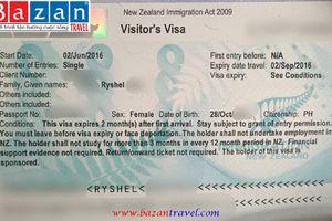 Dịch Vụ Hỗ Trợ Làm Visa đi New Zealand
