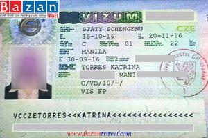 Dịch Vụ Hỗ Trợ Làm Visa đi Cộng Hòa Séc