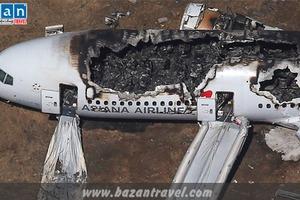 Vụ tai nạn máy bay nghiêm trọng tại San Francisco