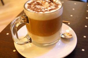 Cà phê Latte Macchiato của Ý