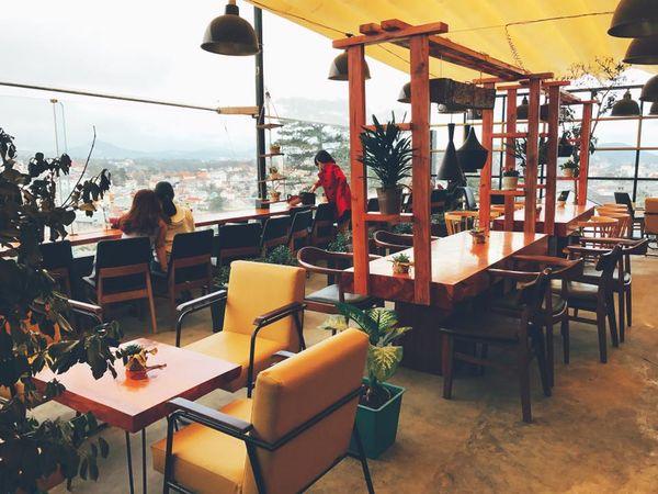 các quán cafe đẹp ở đà lạt