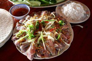 Ăn gỏi cá trích ngon phải đến Phú Quốc