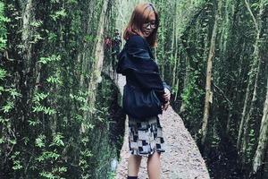 Khám phá con đường bí hiểm ở rừng tràm Tân Lập