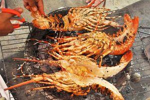 Ăn tôm hùm đảo Bình Ba, cao lương mỹ vị giá bình dân !