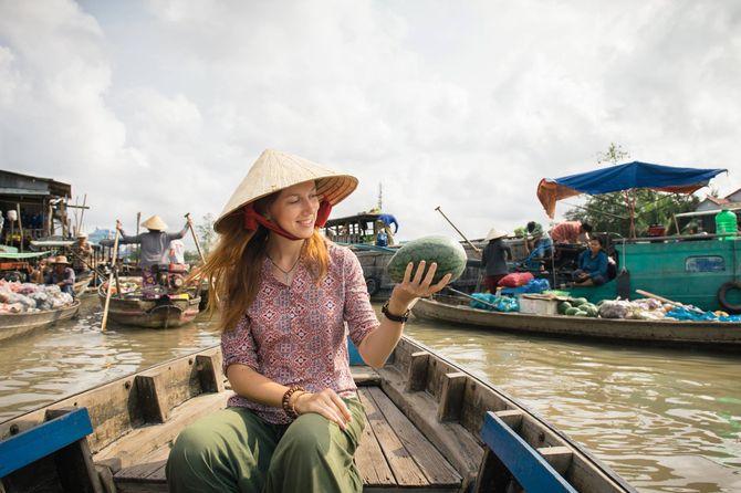 Chợ Nổi Cái Răng - Nét đẹp đặc trưng của miền sông nước