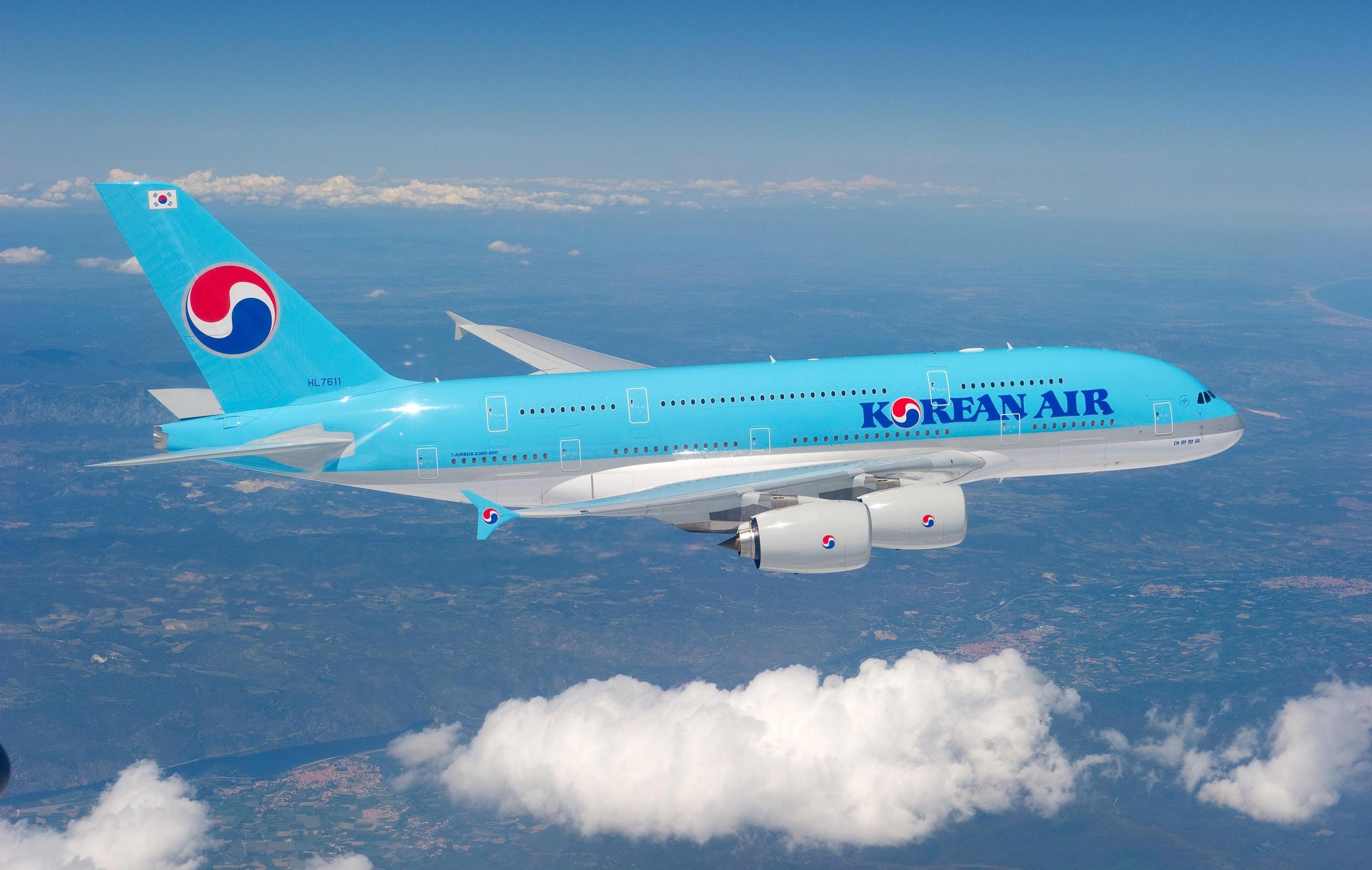 Vé may bay Korean Air
