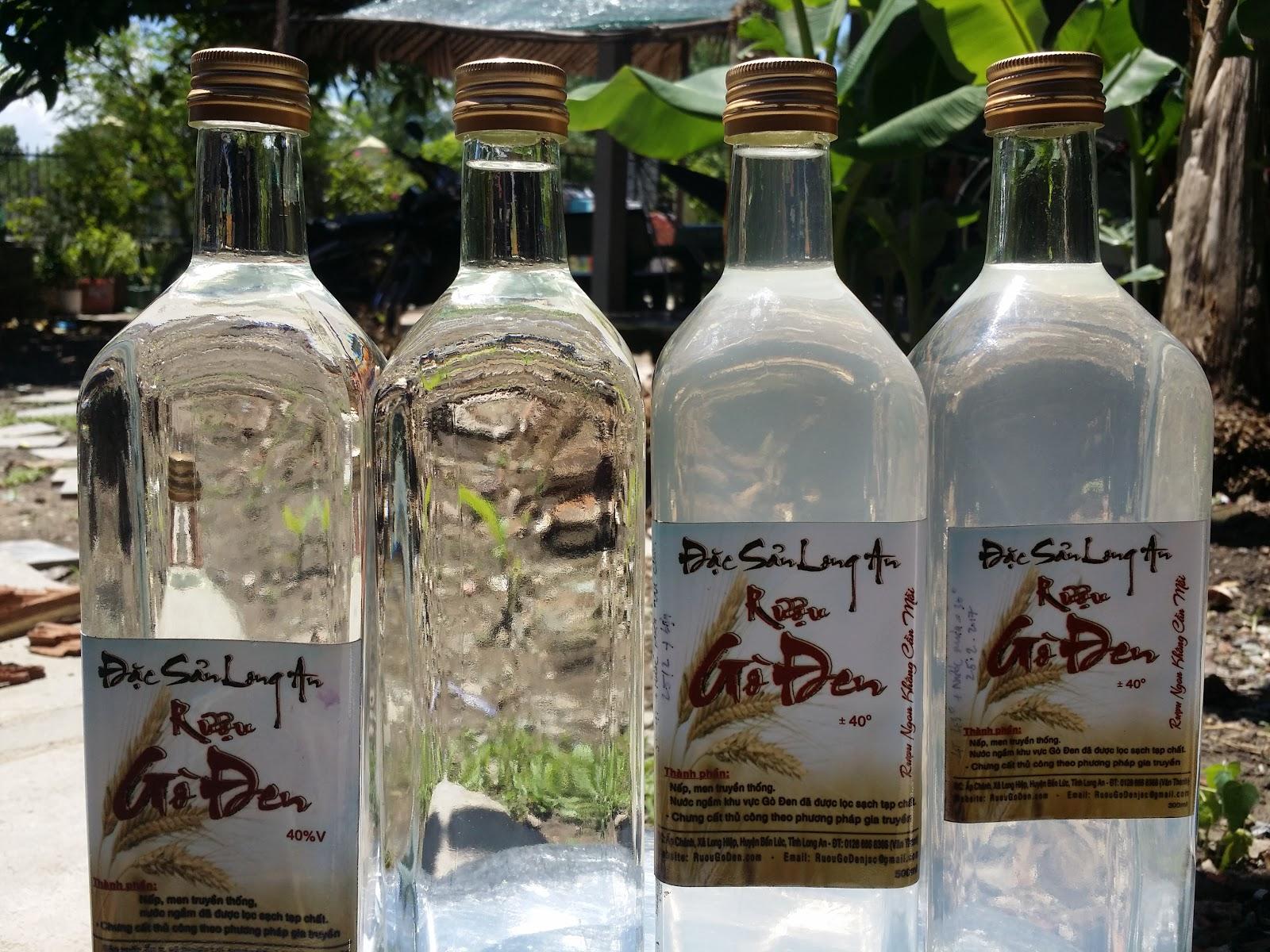 Rượu Gò Đen - Món Ngon ở Long An