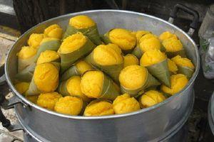 Bánh bò thốt nốt Campuchia, không chỉ ngon mà còn đẹp mắt