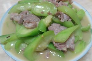 Thịt heo rừng nấu mướp – Đặc sản vùng Bảy Núi, Châu Đốc