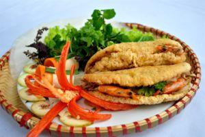 Bánh khoái Đà Nẵng – Biến tấu tài tình từ đặc sản Huế