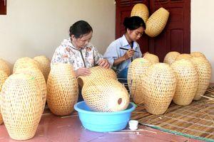 Làng nghề mây tre nứa xã Long Thành ở Tây Ninh