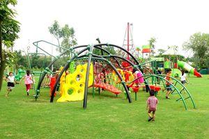Khu vui chơi Sông Hồng Thủ đô ở Vĩnh Phúc
