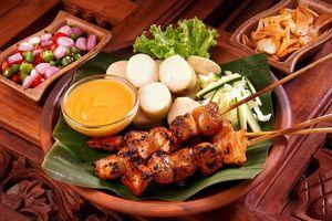 Đến Malaysia thưởng thức món thịt nướng Satay