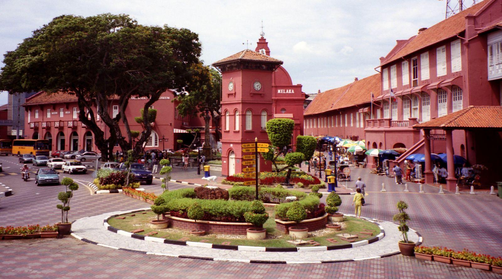 Quảng Trường Hà Lan Malaysia (Stadthuys) ở Malacca