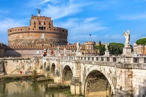 Lâu đài Castello St Angelo ở Ý