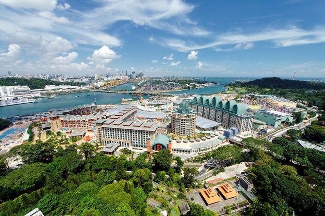Khu nghỉ dưỡng Resort World Sentosa của Singapore