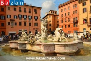 Quảng trường Piazza Navona - Không gian thanh lịch của nước Ý