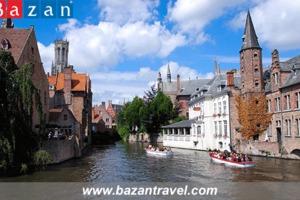 Đến Bỉ ghé thăm Bruges thành phố xinh đẹp