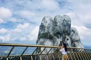 Định vị cây cầu trên mây mới toanh ở Bà Nà Hills Đà Nẵng