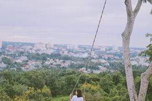 Bali Swing – trò chơi nguy hiểm nhất thế giới đã về tới Việt Nam