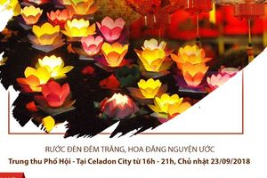 """""""Trung thu phố Hội"""" giữa lòng Sài Gòn ở Celadon City - Tân Phú"""