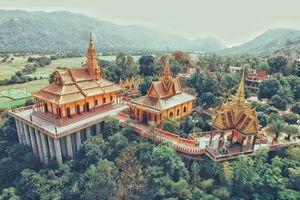 Ngỡ như Thái Lan với ngôi chùa có kiến trúc đẹp nhất miền Tây