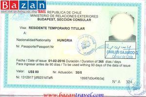 Dịch Vụ Hỗ Trợ Làm Visa đi Chile