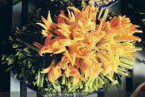 Bông bí miệt vườn Châu Đốc, nguyên liệu cho những món ăn dân giã