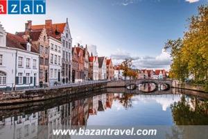 Thành phố Bruges – Bảo tàng trung cổ quý giá của Bỉ