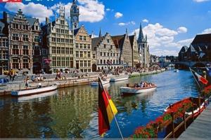 Thành phố Ghent ở Bỉ - Cổ kính với những dấu ấn theo thời gian