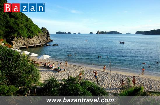 bai-tam-cua-monkey-island-resort-tai-dao-khi-cat-ba