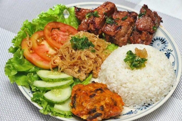 Gạo OM 6976 dùng trong món cơm tấm (Nguồn: Internet)