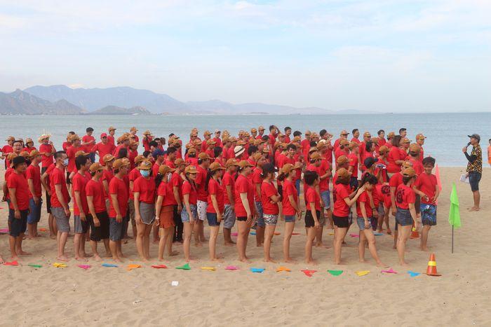 Bãi biển rộng và sạch ở Vũng Tàu