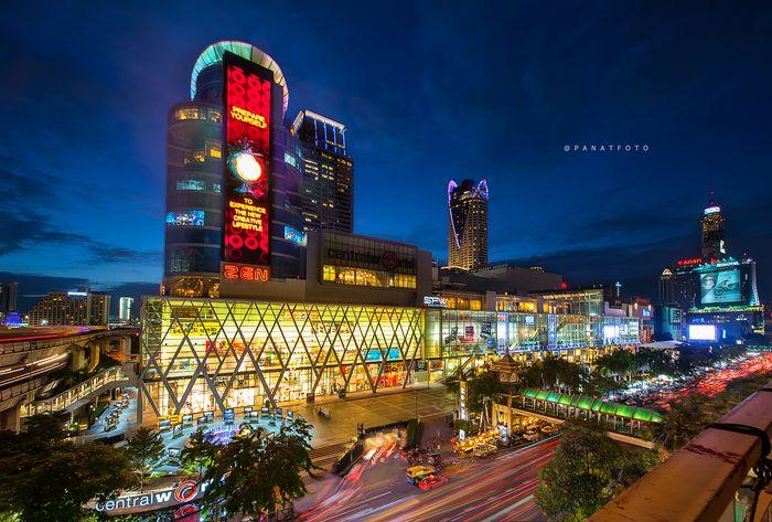 [Chia sẻ] Khám phá du lịch mua sắm Central World, Bangkok, Thái Lan