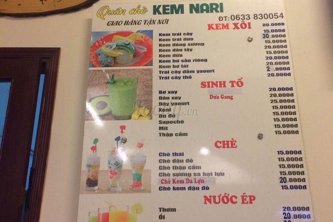 kem-bo-nari-menu