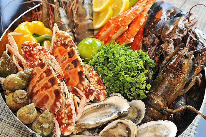 Nhiều món ngon từ hải sản