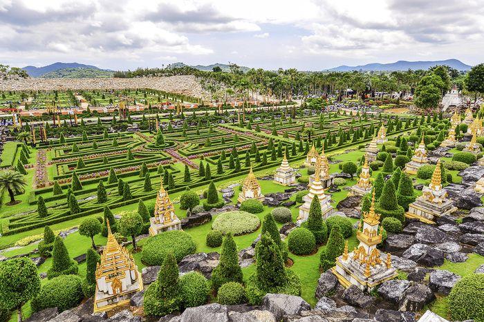 Vườn thực vật Nong Noch Thái Lan