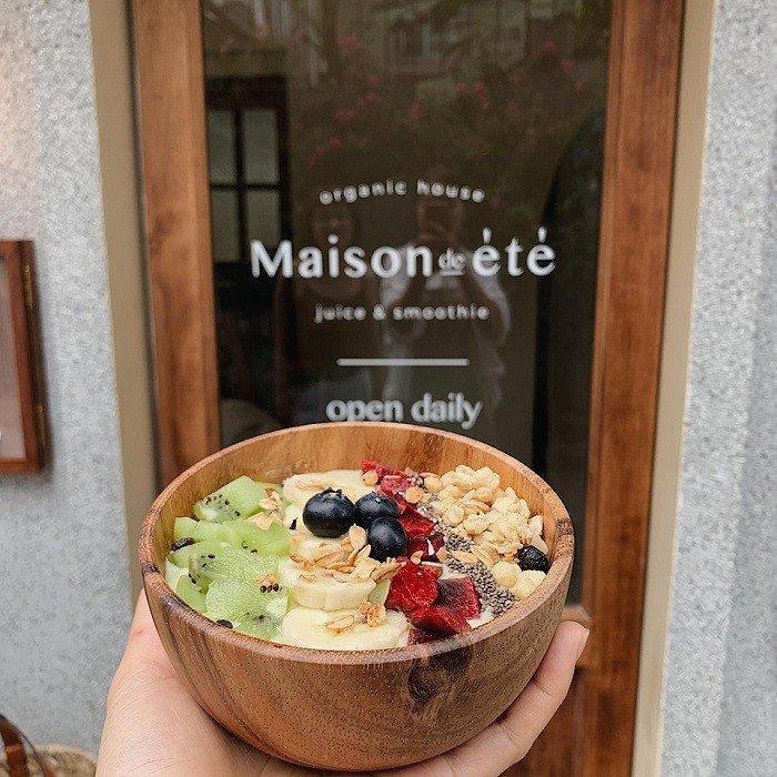 Món ăn ở Maison de Ete