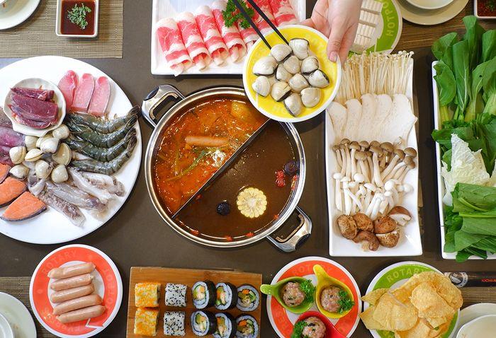 ẩm thực tại Takashimaya
