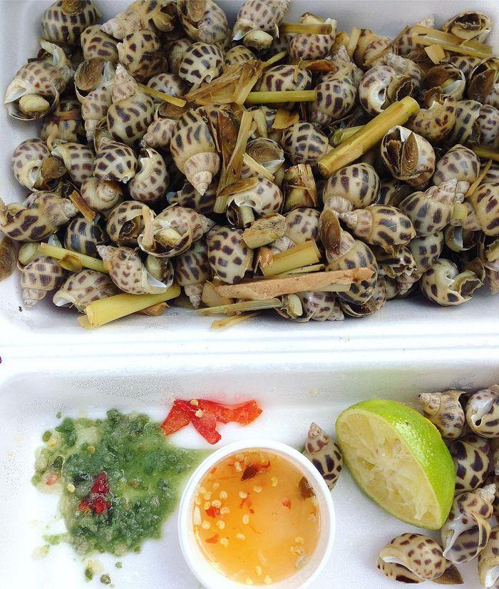 Món ốc hương đặc sản phú quốc