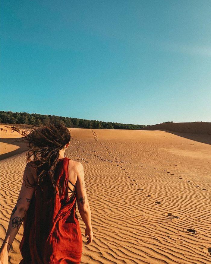Đồi cát Mũi Né nổi tiếng được nhiều du khách viếng thăm