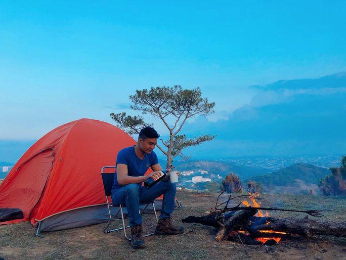 Cắm trại Đà Lạt ở đồi Đa Phú