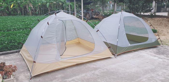 Nhiều mẫu lều trại khác nhau