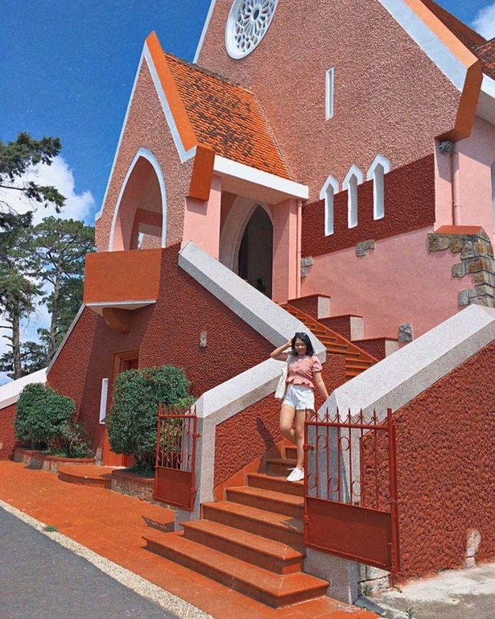 Nhà thờ Domain The Maria nhiều gốc chụp ảnh đẹp